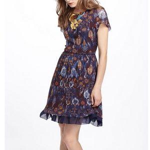 Anthropologie Flared Caraz Dress
